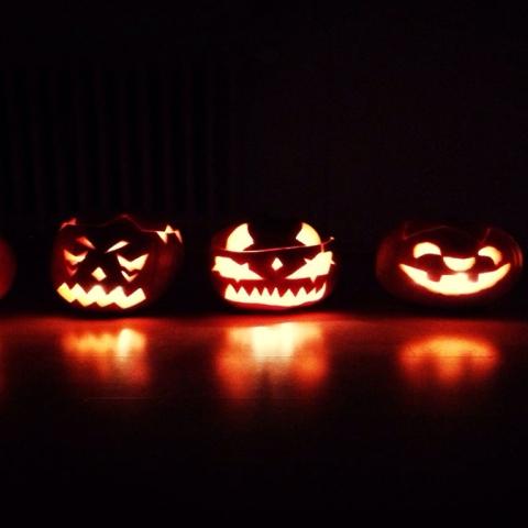 صور: هالوين الحلوى.. والشر!