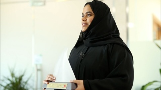 Photo: Mariam Salmeen: Electrifying Confidence