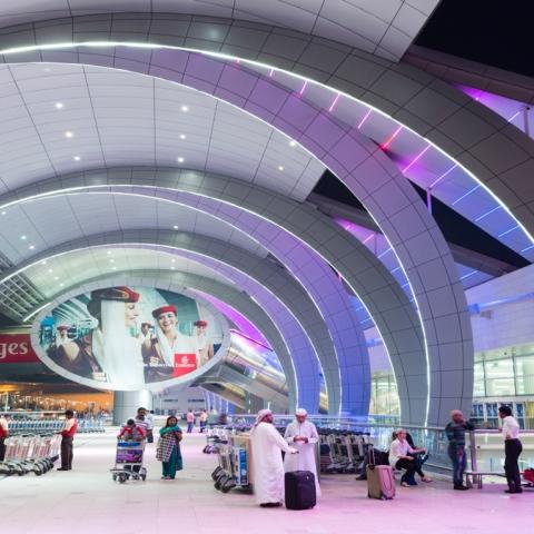 صور: مطار دبي.. يفوز دائمًا