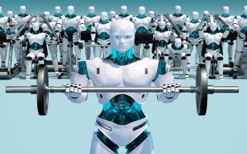 الروبوت قد يبتسم لك!
