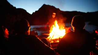 صور: حطب السمر يتهيأ للشتاء