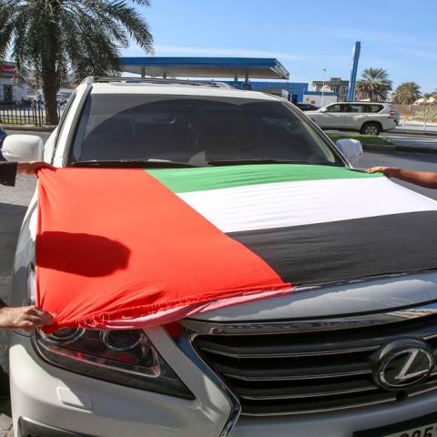 صور: احتفل باليوم الوطني دون مخالفات