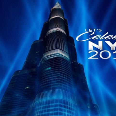 """صور: كيف ستكون احتفالات """"برج خليفة"""" بالسنة الجديدة؟"""