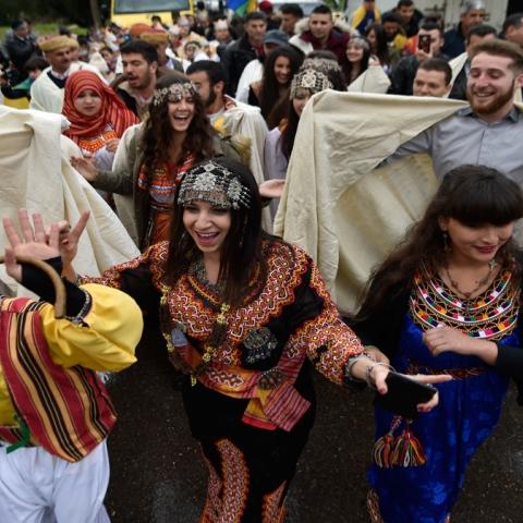 صور: كل عام والأمازيغ بخير
