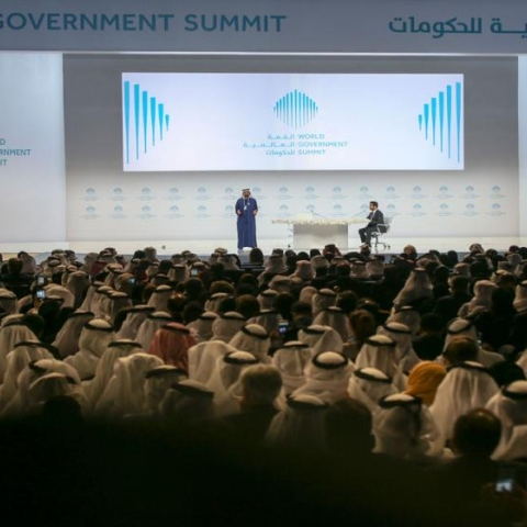 Photo: World Government Summit: Solutions Must Be Created Now