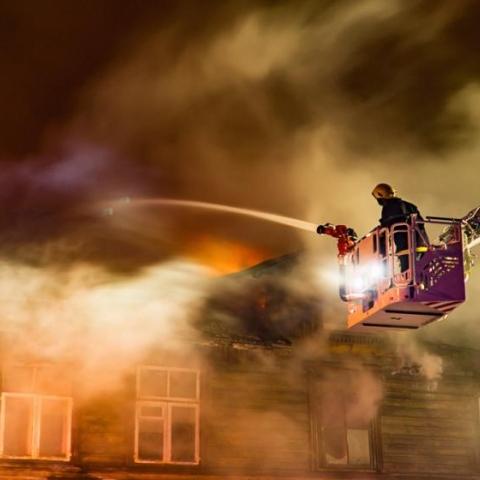 صور: كونوا بأمان من حرائق البيوت