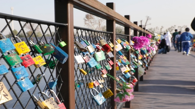 Bridge of love in Dubai - Dubai Post
