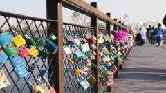 Bridge of love in Dubai