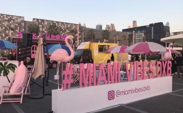 """Image: """"Miami Vibes"""" at """"City Walk"""""""