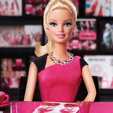 Photo: Barbie as you never seen before