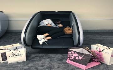 الآن.. يمكنك النوم والاستراحة قليلاً في دبي مول!