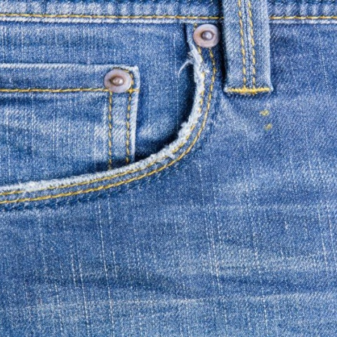 Photo: Jeans are not good for the environment