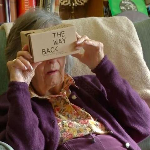 صور: رحلة عبر الواقع الافتراضي لمساعدة مرضى الخرف