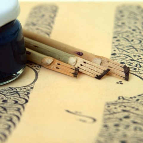 صور: الخط العربي.. فن وليس حرفة