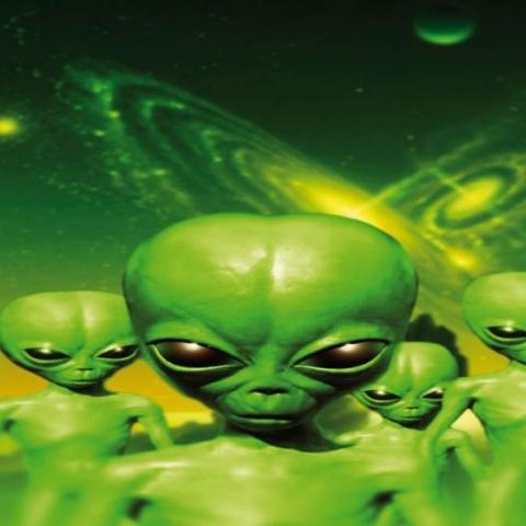 Photo: My Friend is an Alien!
