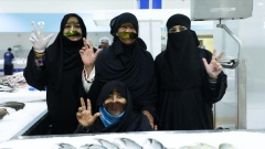 Female Fish Mongers Back in Dubai