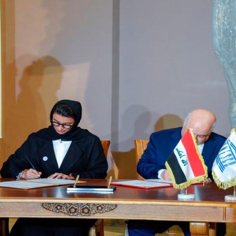 صور: الإمارات تعيد الأمل للموصل