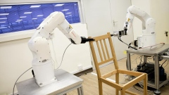 This robot can build a chair faster than you