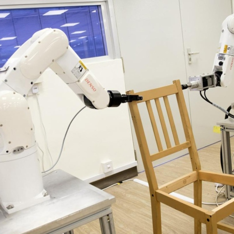 Photo: This robot can build a chair faster than you