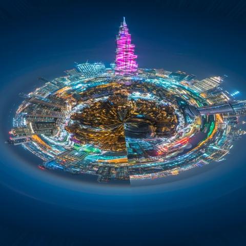 صور: أكثر أماكن دبي الموجودة على انستغرام