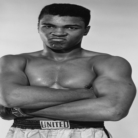 Photo: King of Boxing... Mohammed Ali Clay