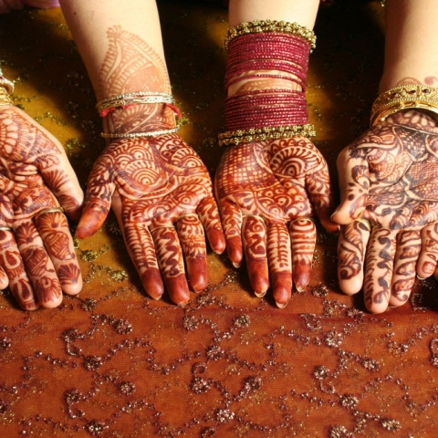 Photo: Henna … decoration of Eid