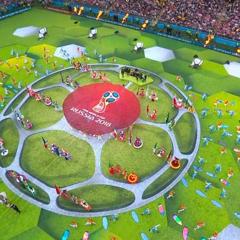 صور: أجواء احتفالية في كأس العالم