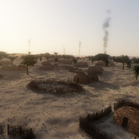 Photo: The UAE's 8,000 year old village