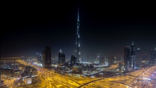 برج خليفة يوحد الشعوب في كأس العالم