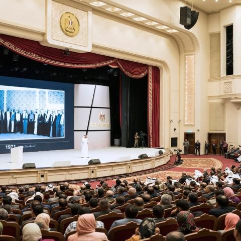 """صور: """"التميّز الحكومي"""" بين الإمارات ومصر"""