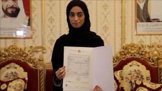 صور: أريام الكعبي: فقدان والدي قادني لأكون الأولى على الإمارات في الثانوية العامة