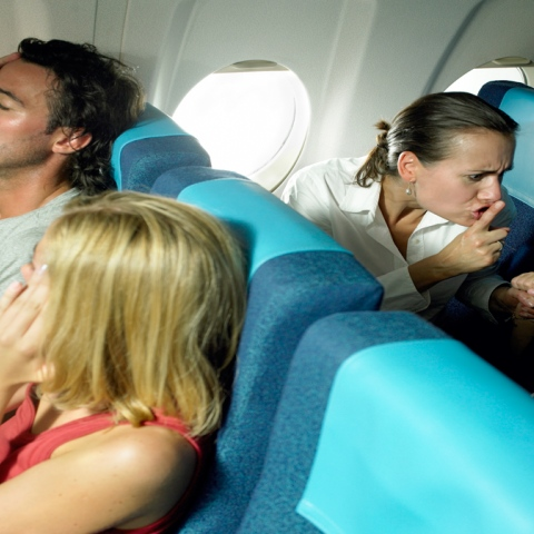 Photo: The most annoying things about air travel!