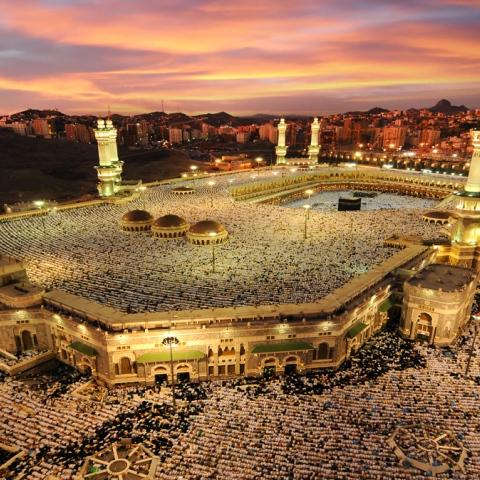 Photo: The Holy Ka'aba