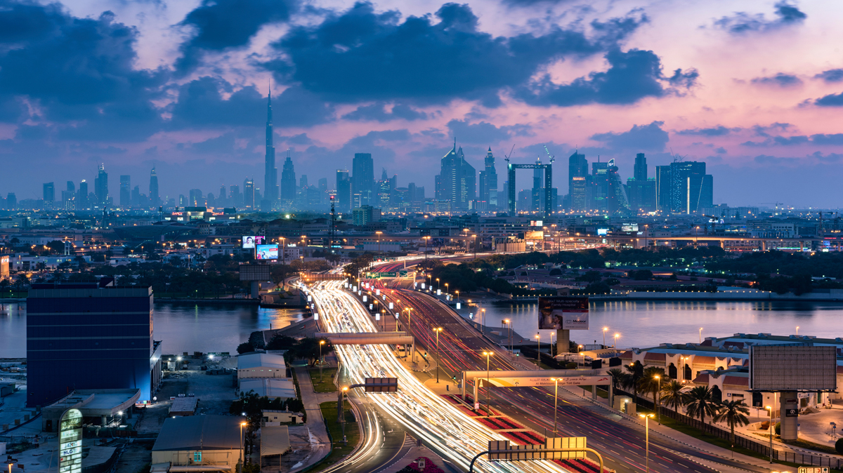 يوم بلا حوادث في دبي