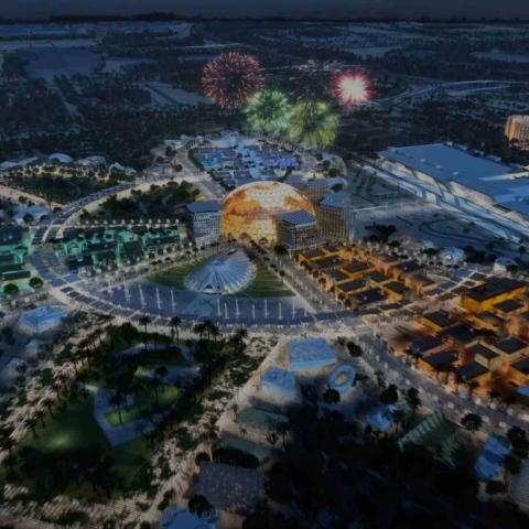 """صور: """"إكسبو 2020 دبي"""" يُقيم احتفالية جماهيرية بمناسبة بِدء العد التنازلي لاستضافة الحدث بعد عامين"""