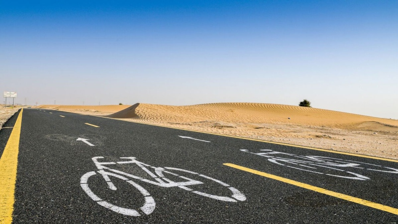Photo: Want to exercise in Dubai without high costs?
