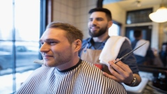 Does your barber do this?