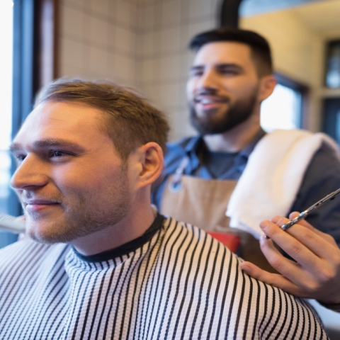 Photo: Does your barber do this?