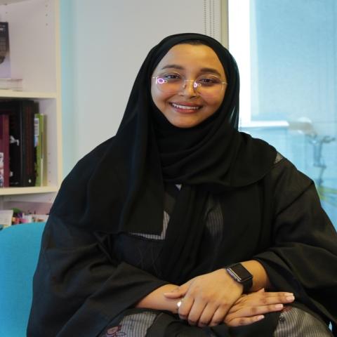 """Photo: Raihana Al Hashmi, Emirati filmmaker: """"You create your own chances"""""""