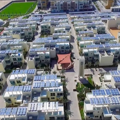 Photo: The Sustainable City of Dubai ... A model for future cities