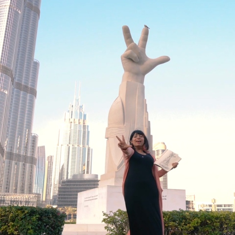 Photo: HI DUBAI EPISODE 4 – YOUTH -  Khulood, UAE student