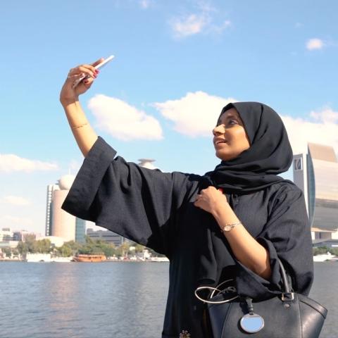 Photo: HI DUBAI Episode 5 – YOUTH - Suhaila, Project engineer