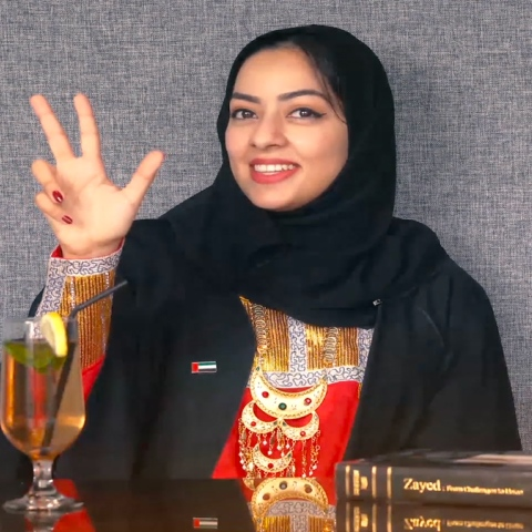 Photo: HI DUBAI Episode 6 – YOUTH -  Suaad, Ambassador UN Youth Assembly