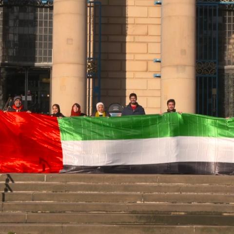 صور: احتفال طلبة شيفيلد الإماراتيين باليوم الوطني