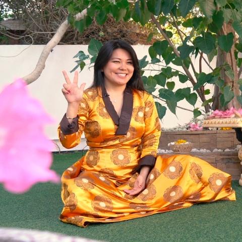 Photo: HI DUBAI Episode 8 – TOLERANCE - Tenzin, sales director and Buddhist