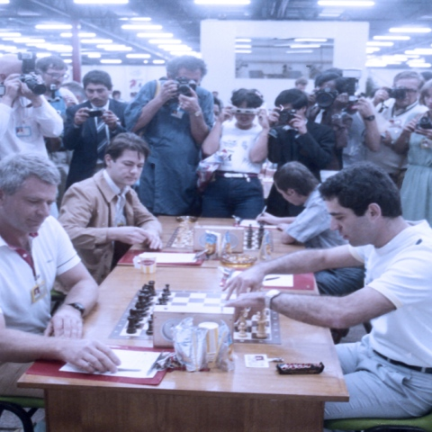 Photo: In 1986, the Chess Olympics came to Dubai