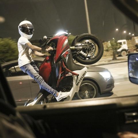 Photo: Dangers of Drifting