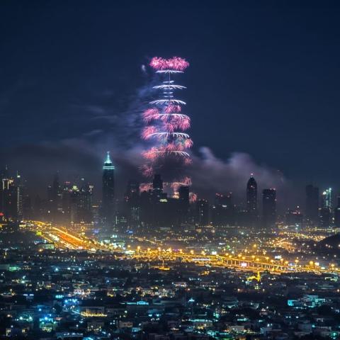 صور: أفضل الأماكن لمشاهدة احتفالات دبي في ليلة رأس السنة الجديدة