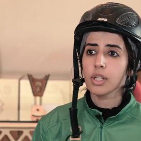 Photo: HI DUBAI Episode 19 – SPORT - Shamsa, Emirati endurance rider