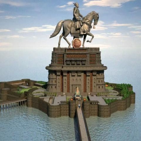 صور: تمثال يثير قلقاً في مومباي